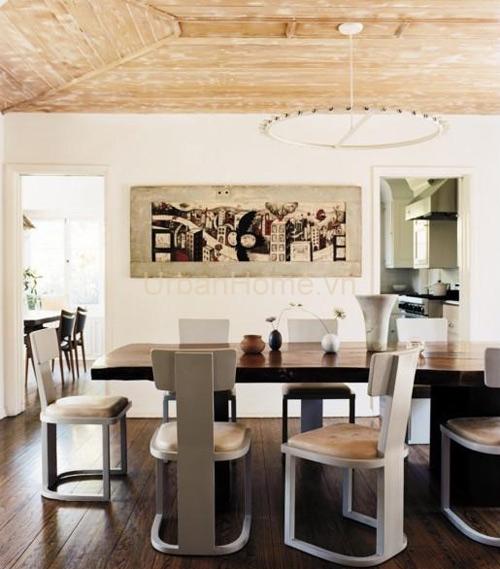 Thiết kế nội thất bàn ăn tinh tế
